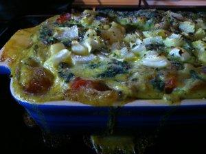 Super easy vegetable lasagne