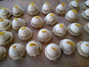 Goosnargh curd cakes in progress...