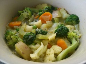 Simple vegetable stew, delicious!